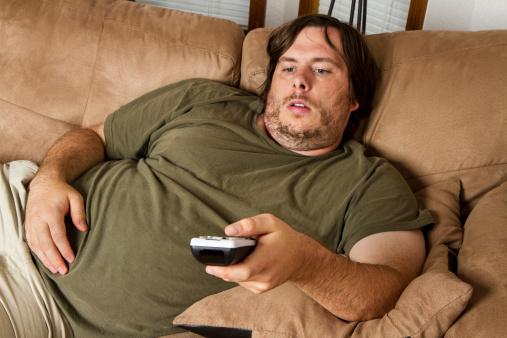 Moi dans mon canapé avant l'épiphanie